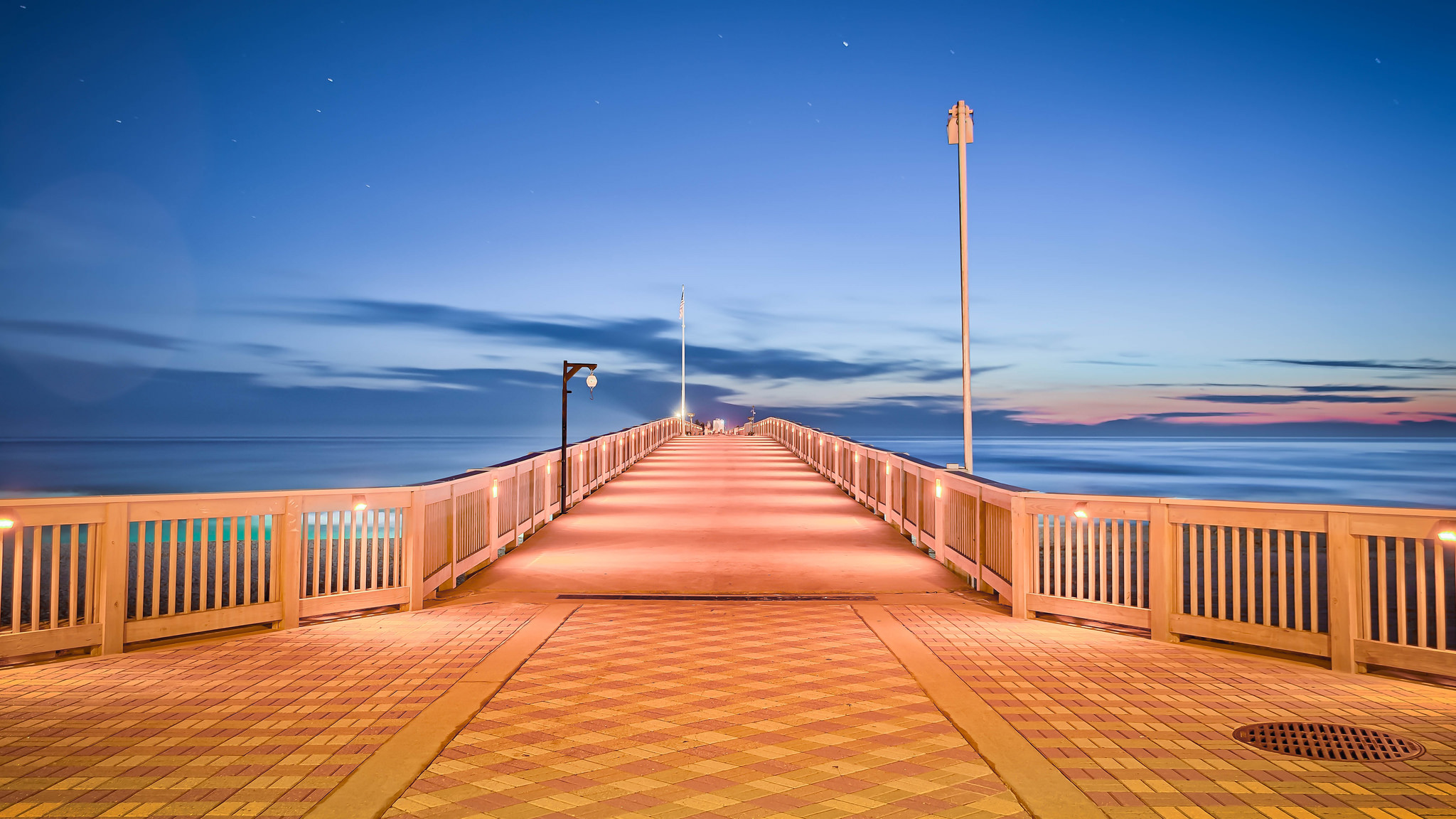 entrance to the pier at Pier Park in Panama City Beach, FL